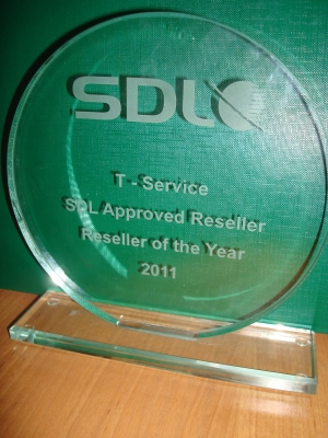 Reseller of the Year 2011